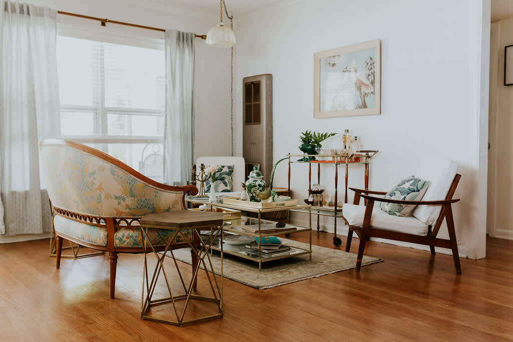 A Breezy Florida Home and Floral Studio