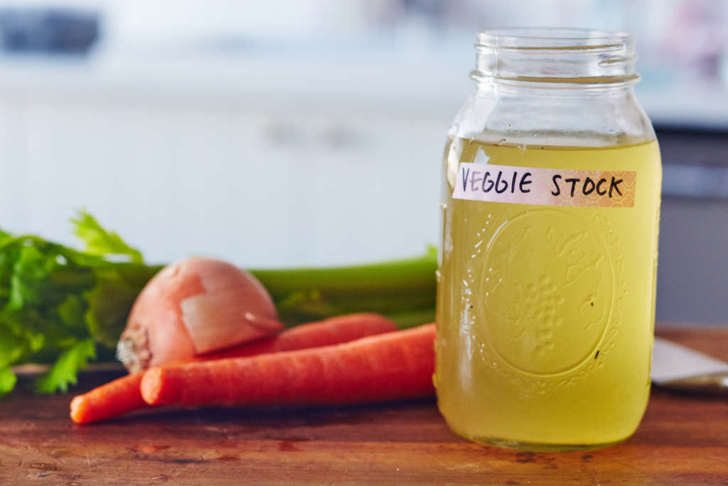 This Easy Homemade Vegetable Stock Is Ready in Under an Hour