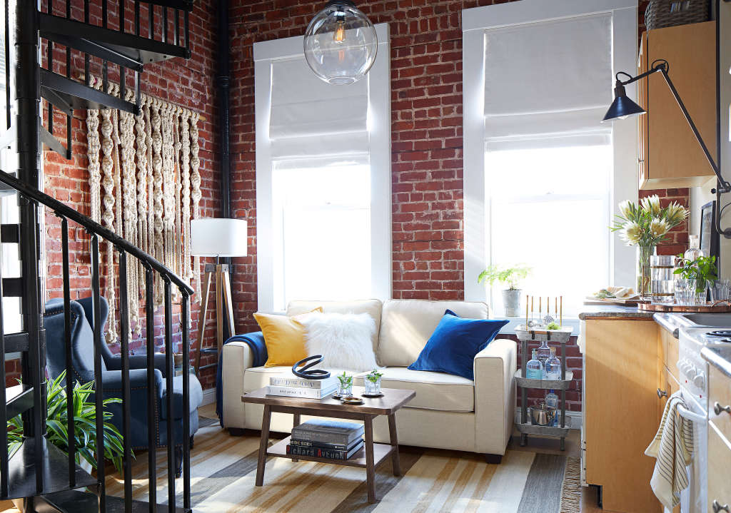 Pottery Barn Focuses on Small Spaces With PB Apartment