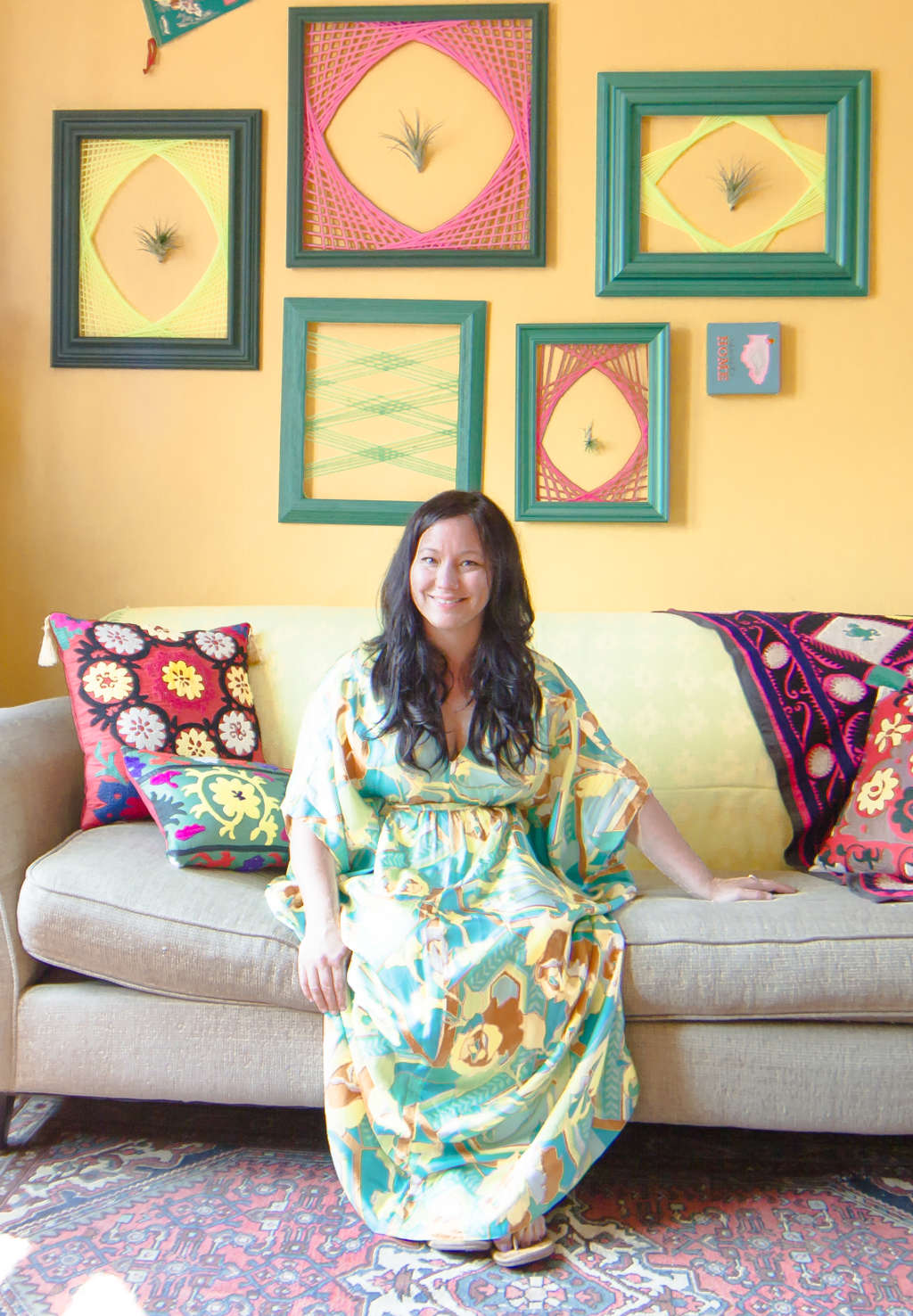 House Tour: A Chicago Home Bursting With Bold Colors