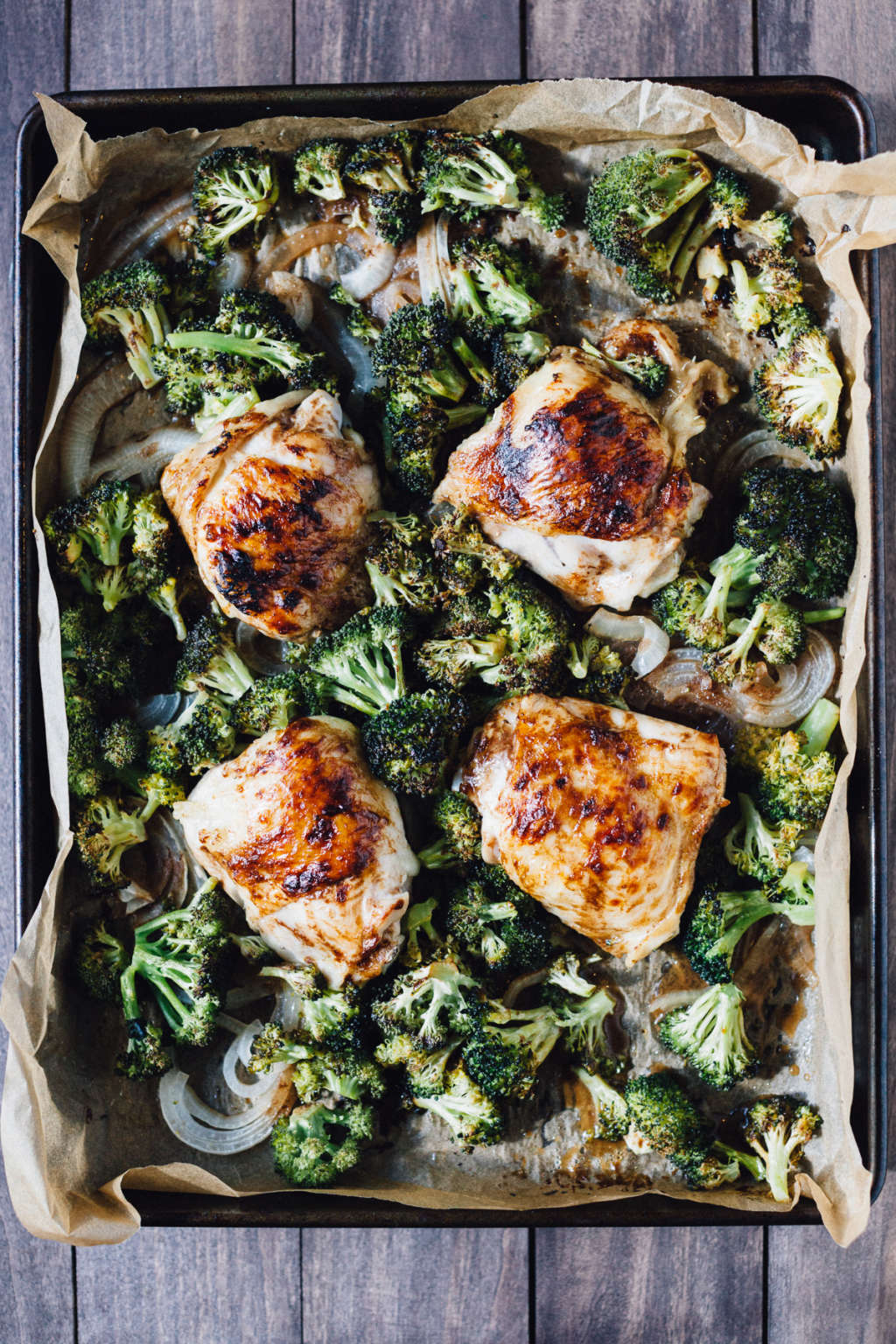 Make This Sheet Pan Balsamic Chicken and Broccoli for Dinner