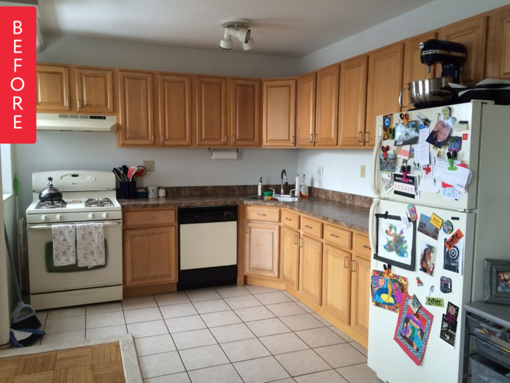 Before & After: An Awkward Brooklyn Kitchen Embraces its Potential