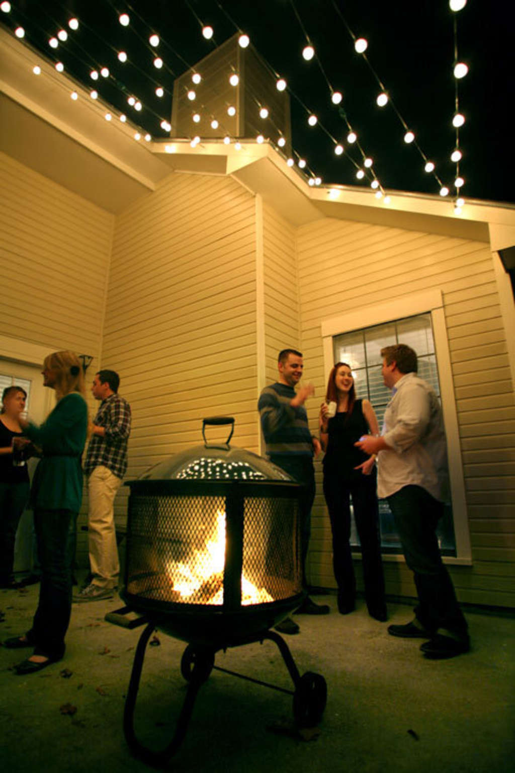 Gather Round: Splendid Outdoor Fire Pits from Our House Tours