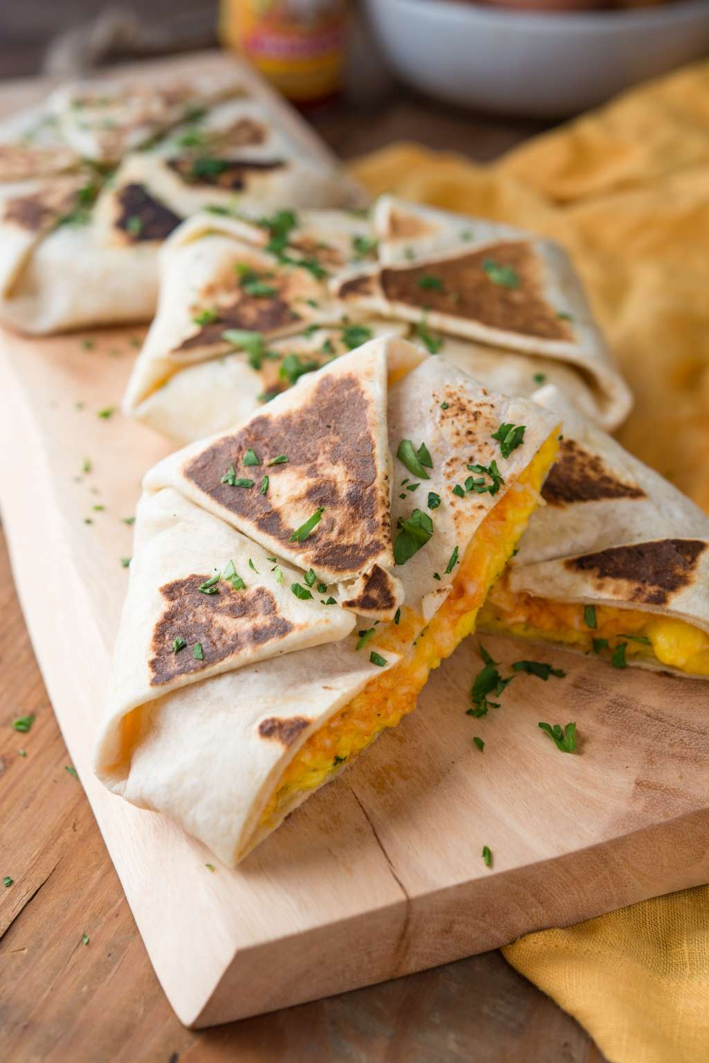 Recipe: The Wrapped Breakfast Quesadilla
