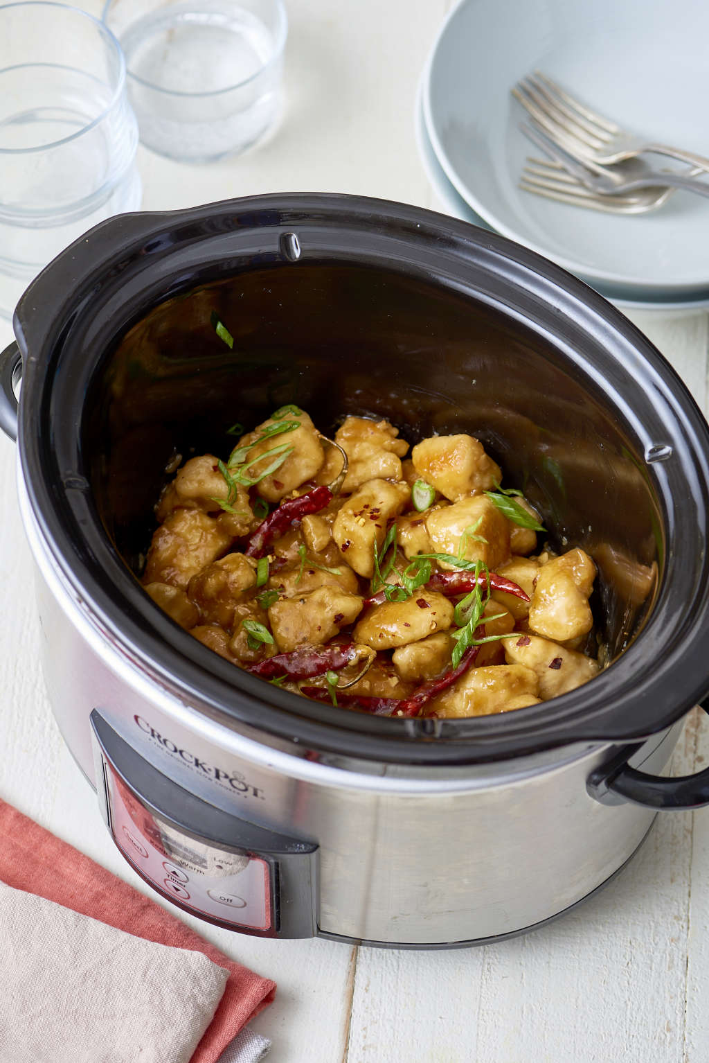 The Best Way to Make Slow Cooker General Tso's Chicken
