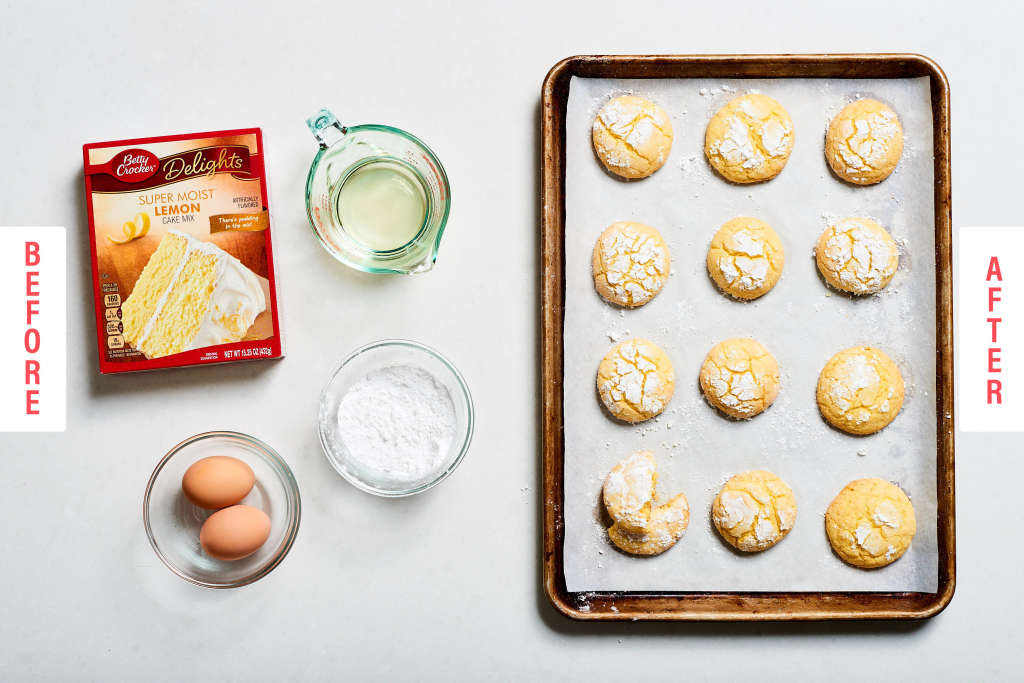 Easy Lemon Crinkle Cookies That'll Win Your Cookie Swap