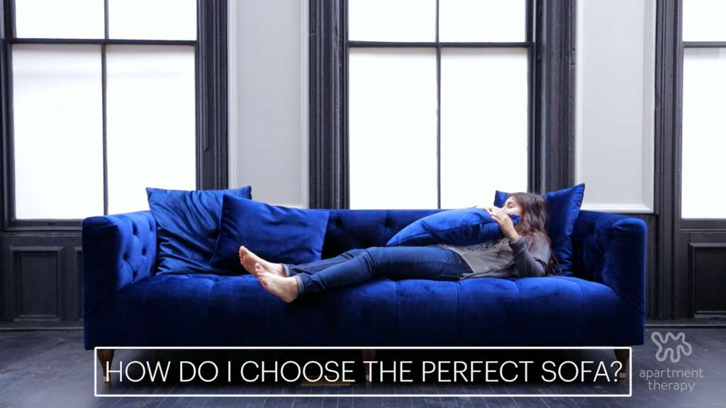 How to Buy a Sofa to Find the One that\'s Right for YOU | Apartment ...