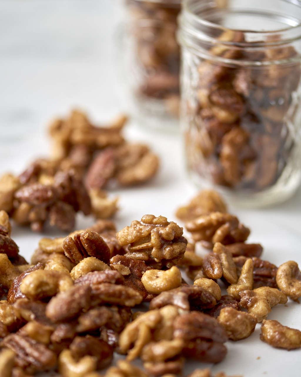 These Slow Cooker Spiced Nuts Taste Like Crème Brûlée!