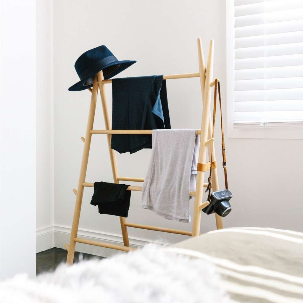 How to Handle the Bedroom Chair Pile-Up For Good