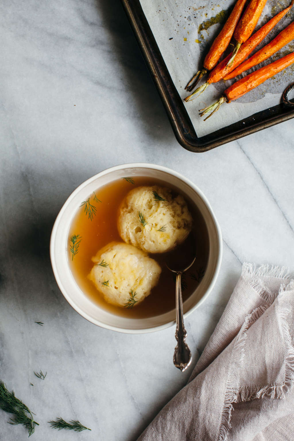 You Won't Want to Pass Over This Gluten-Free Matzo Ball Soup