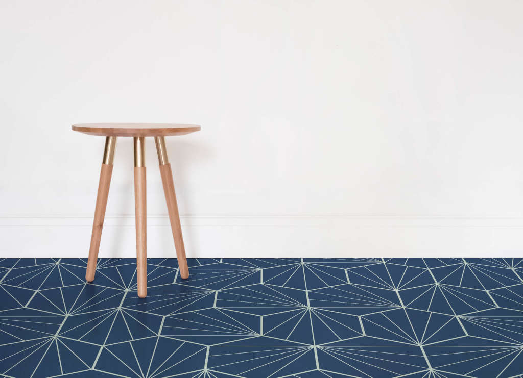 Finally! Patterned Vinyl Flooring That's Actually Pretty