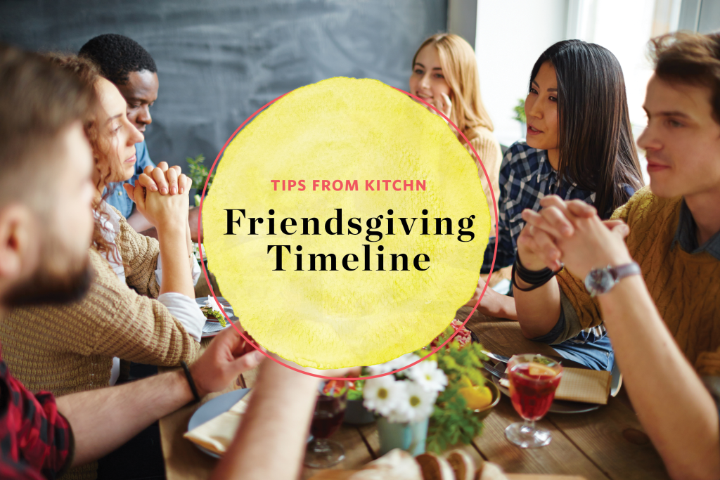 Here's Your 10-Day Timeline for Hosting Friendsgiving