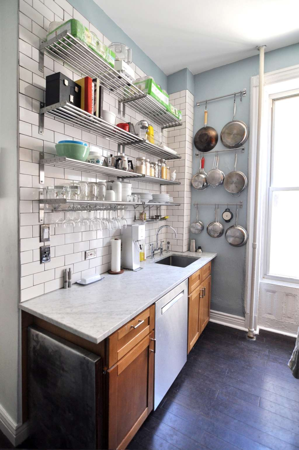How to Organize a Small Apartment Kitchen: A 7-Step Plan ... on Small Apartment Organization  id=91982