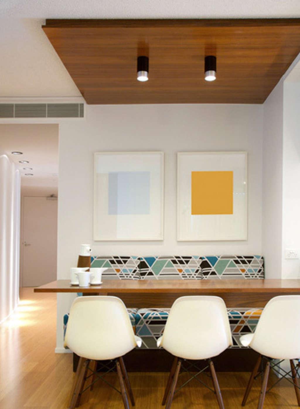 Wrightson stewart modern australian kitchens dining - Bancos para comedor ...