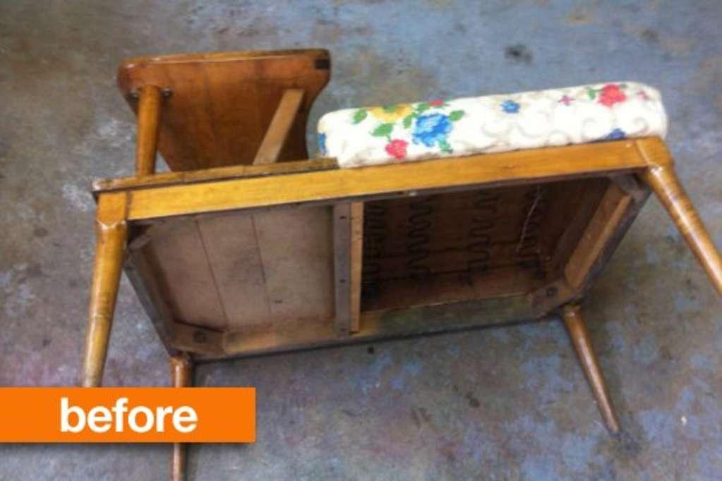 Before & After: Gossip Bench Breakdown