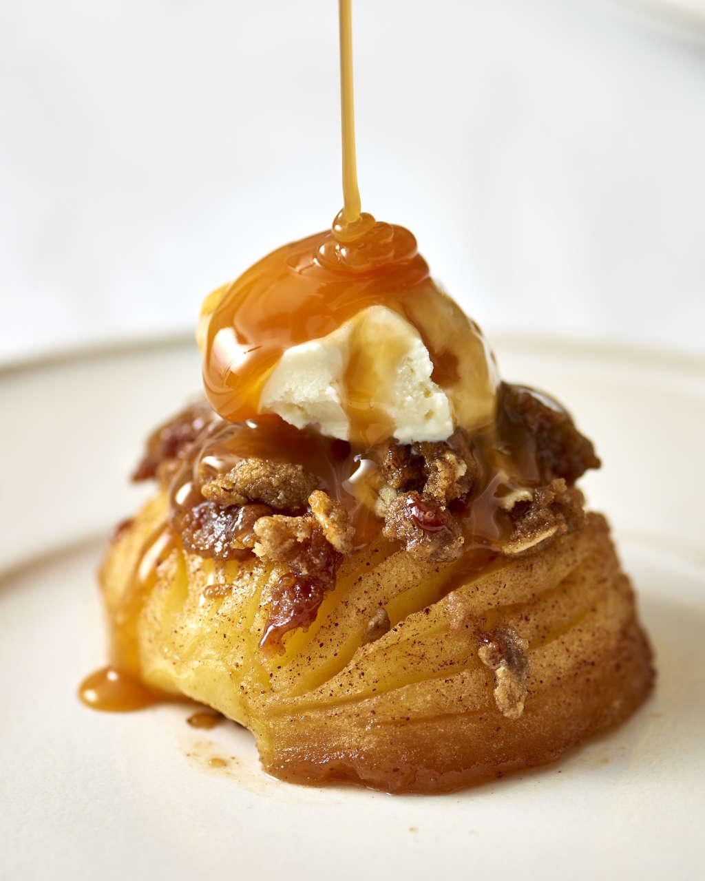 Hasselback Baked Apples Are Like Single-Serve Apple Crisps