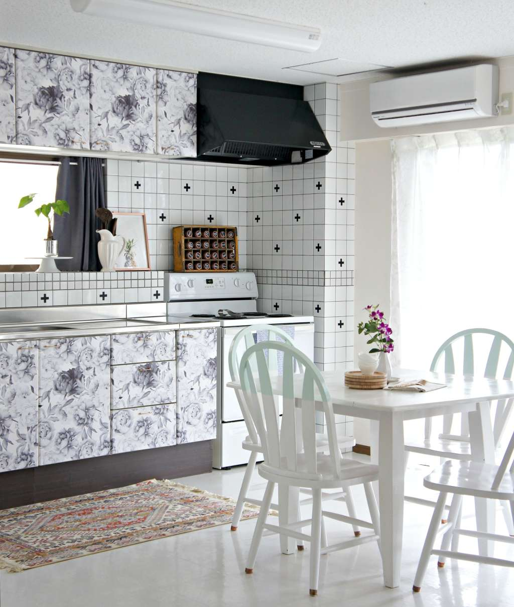 Kitchen For Rent: Temporary Wall Pattern Ideas For Renters