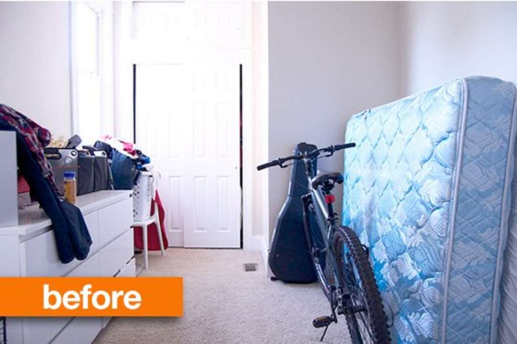 Before & After: An Office/Guest Bedroom Gets a Dramatic Makeover