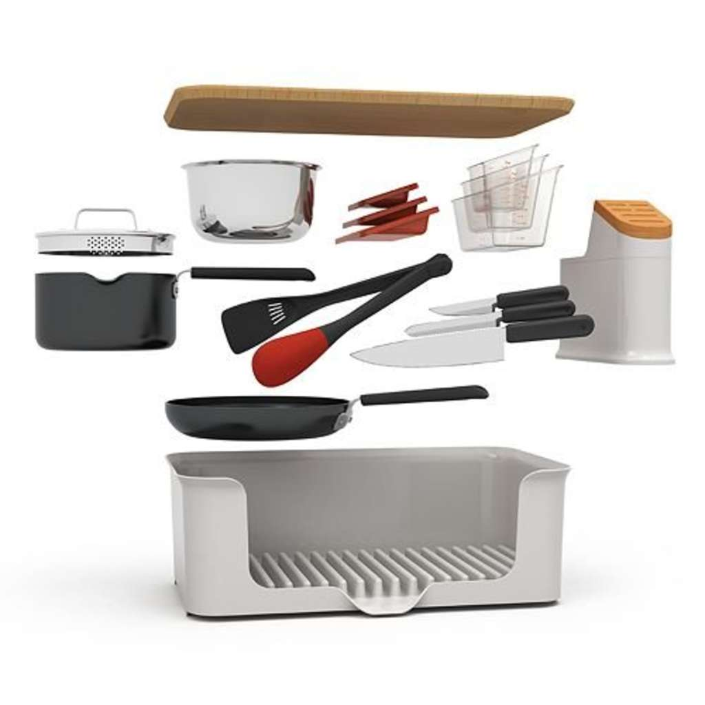 Win: A Kitchen In A Box 14-Piece Kitchen Set!