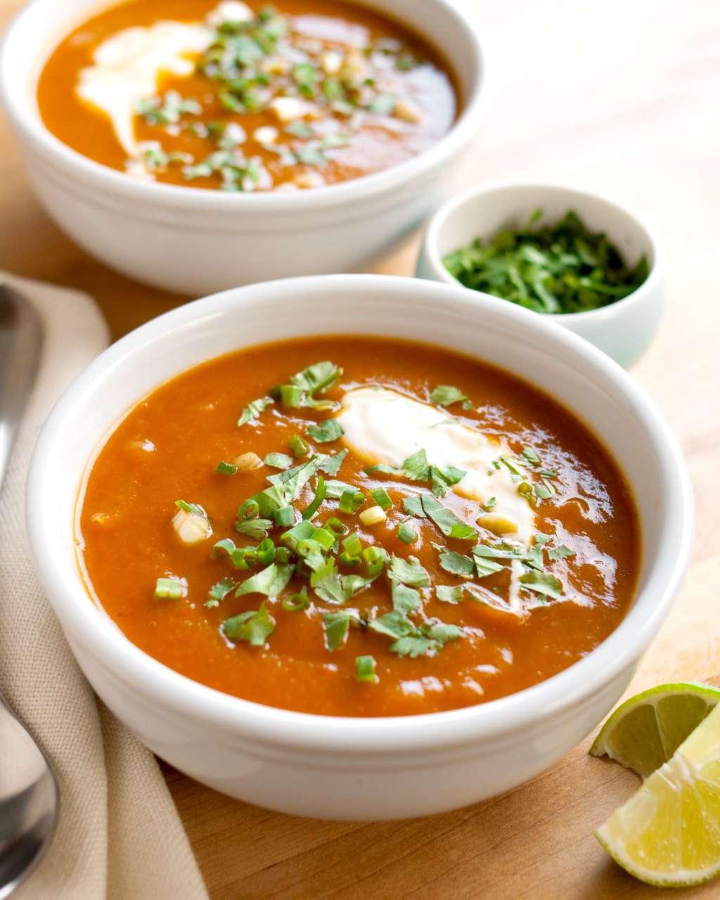Recipe: Southwestern Butternut Squash Soup