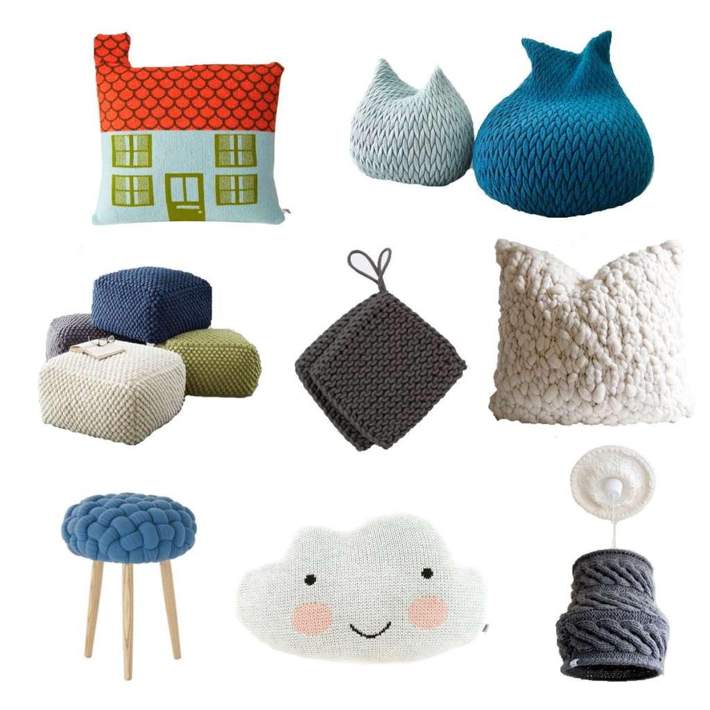 Artistic Knits for the Home