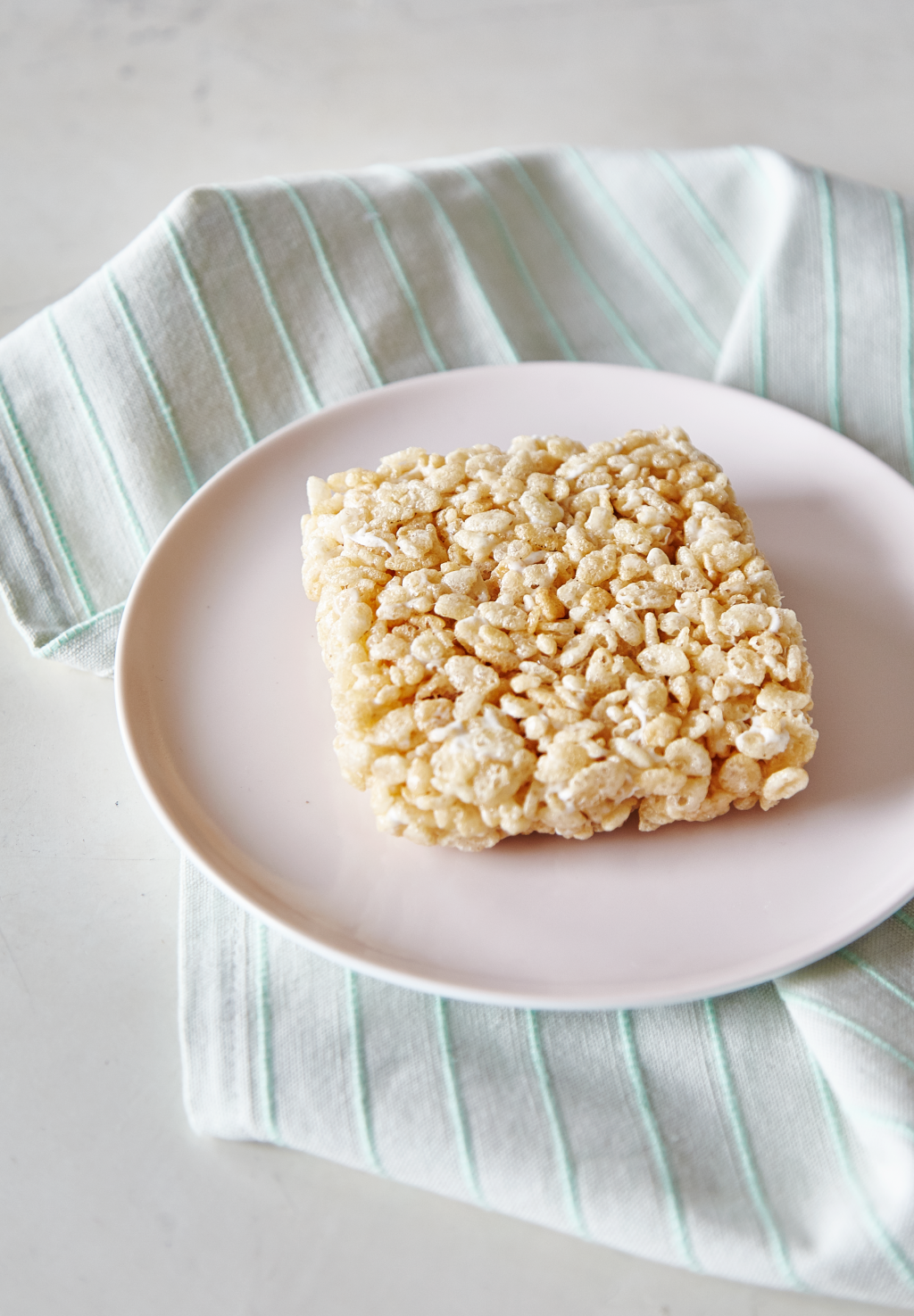 How To Make a Single Rice Krispies Treat