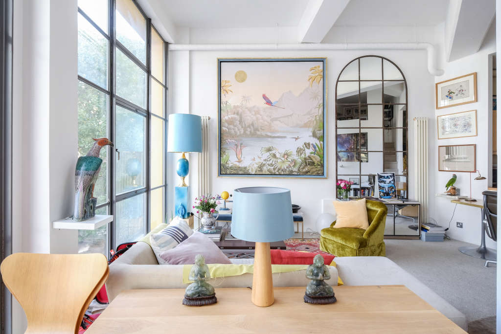 This Novelist's Eclectic London Home Is One of a Kind