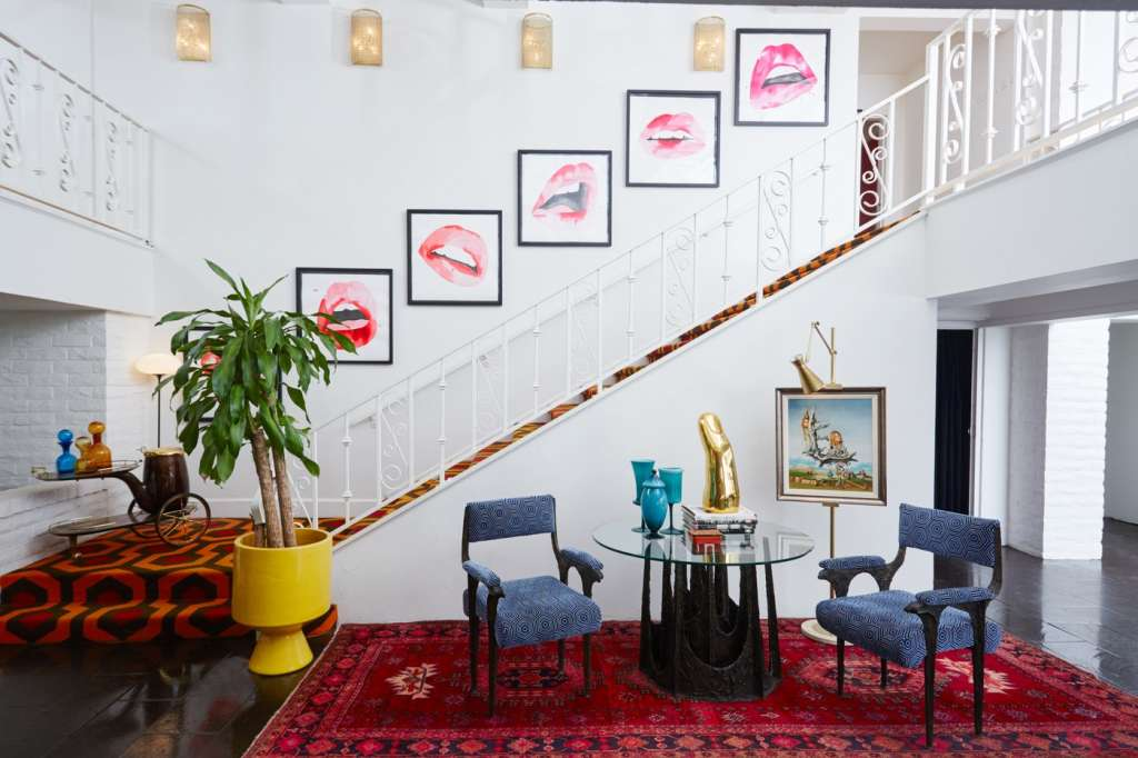 Jonathan Adler Renovates the Parker Palm Springs with Carpet from The Shining & a Giant Golden Banana
