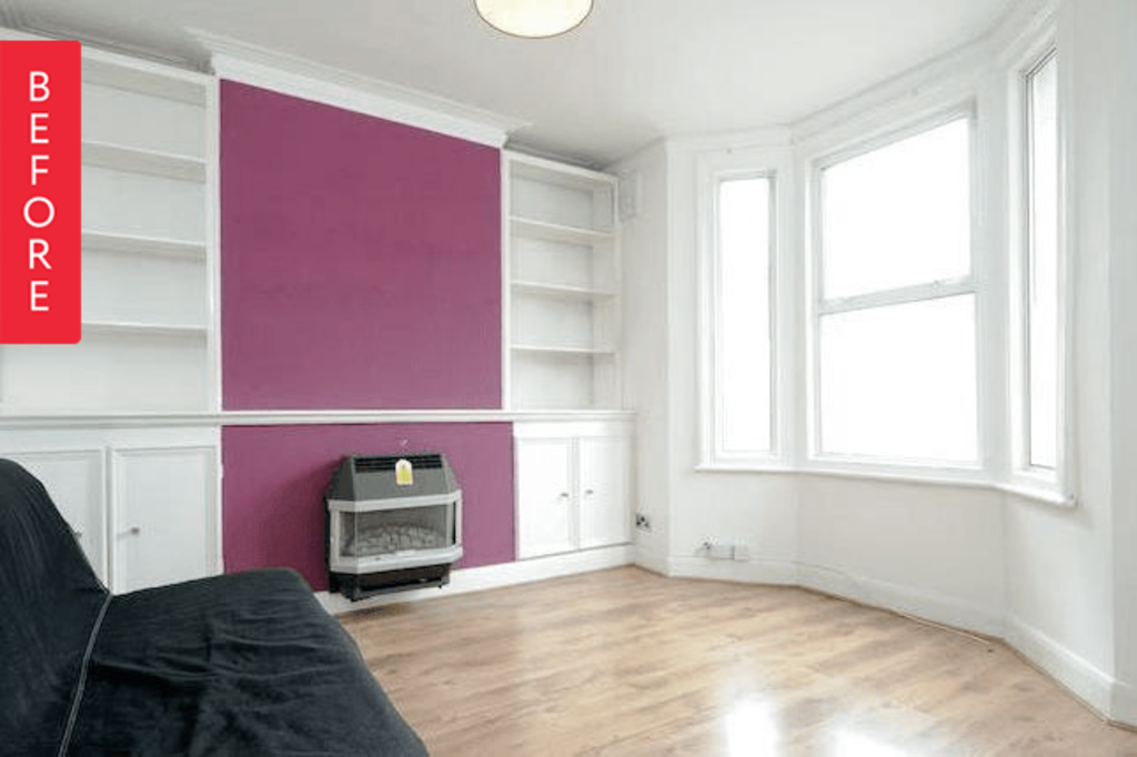 Before & After: A Cramped Living Room Opens Up
