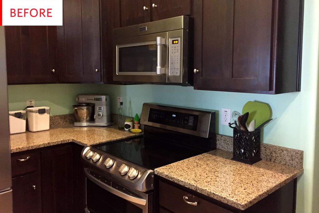 Rental Kitchen Cabinet Lighting Hack | Apartment Therapy