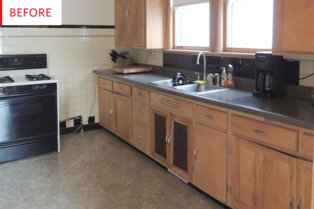 Before & After: This Kitchen Kept All of Its Character