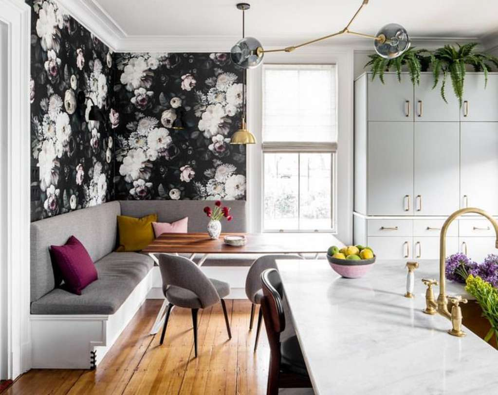 Outrageously Gorgeous Wallpapered Rooms On Instagram This Week