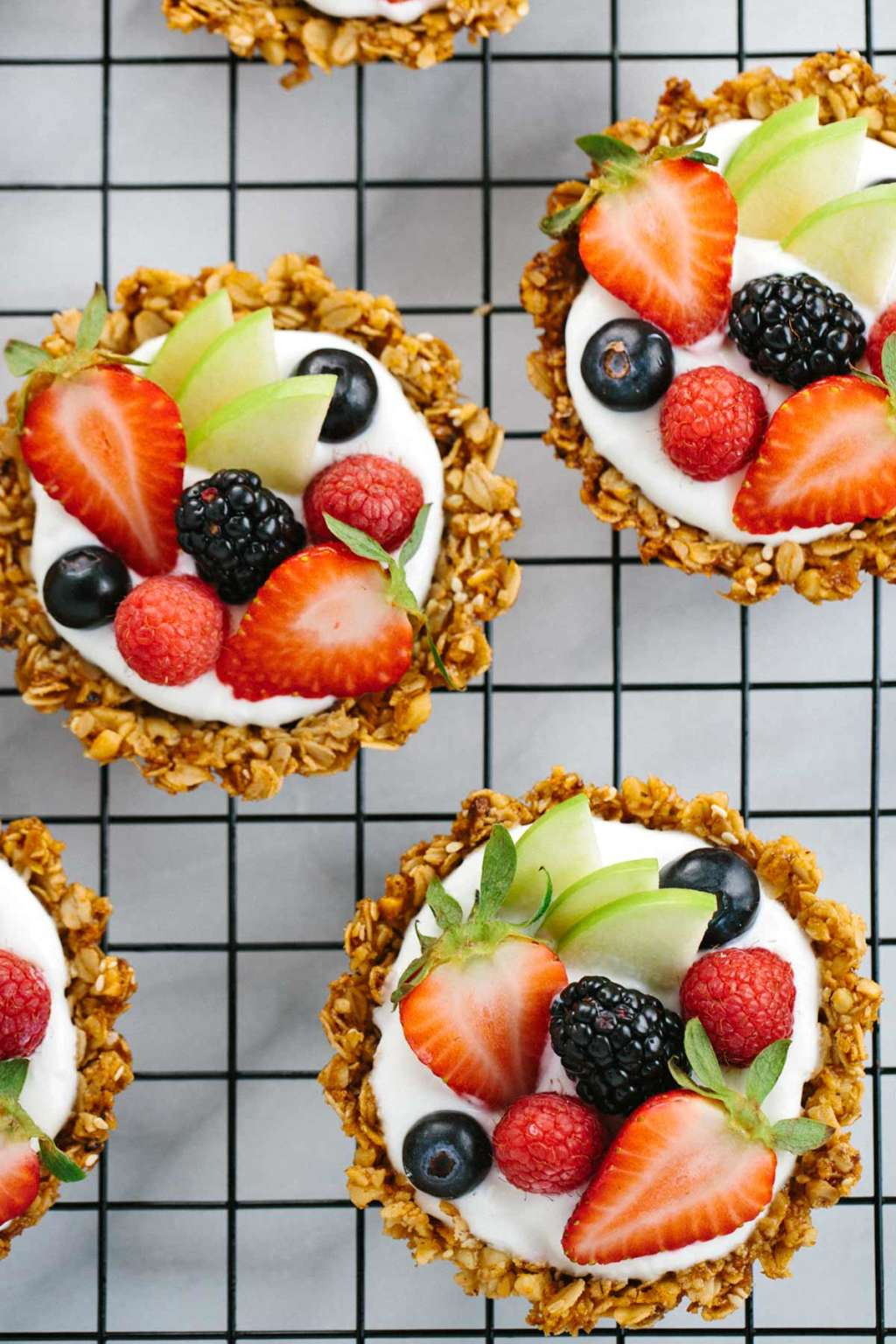 Eat Dessert for Breakfast with These Granola & Yogurt Tarts