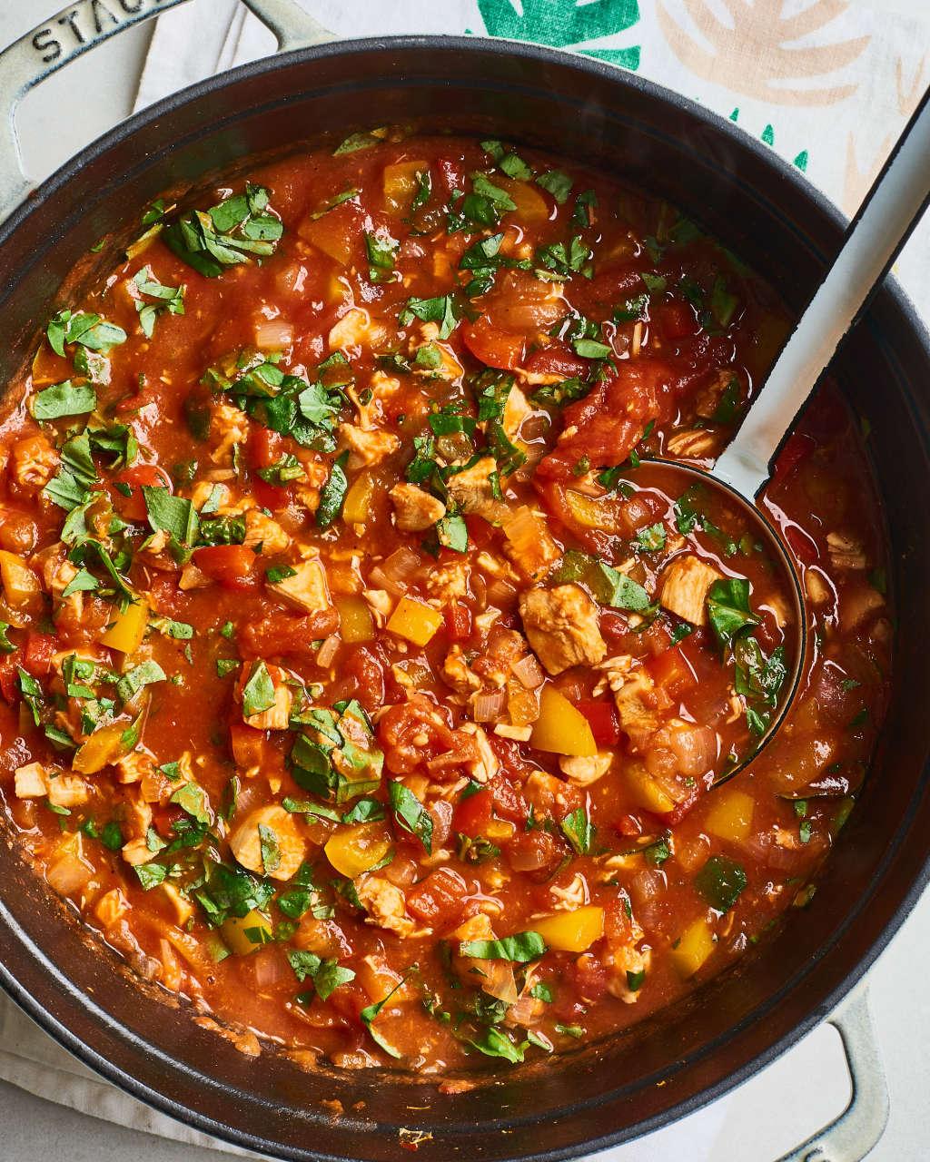 Ina Garten's Chicken Chili Recipe