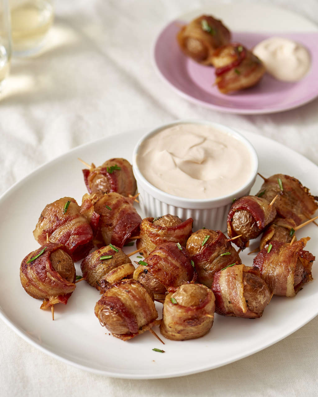 Recipe: Bacon-Wrapped Potato Bites