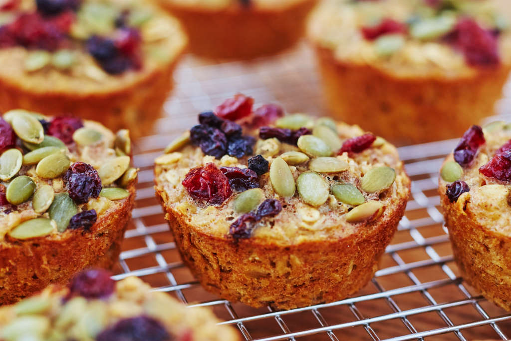 Make-Ahead Baked Oatmeal Cups for Your Busiest Mornings