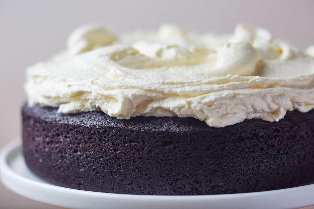 Dark Chocolate Guinness Cake for St. Patrick's Day