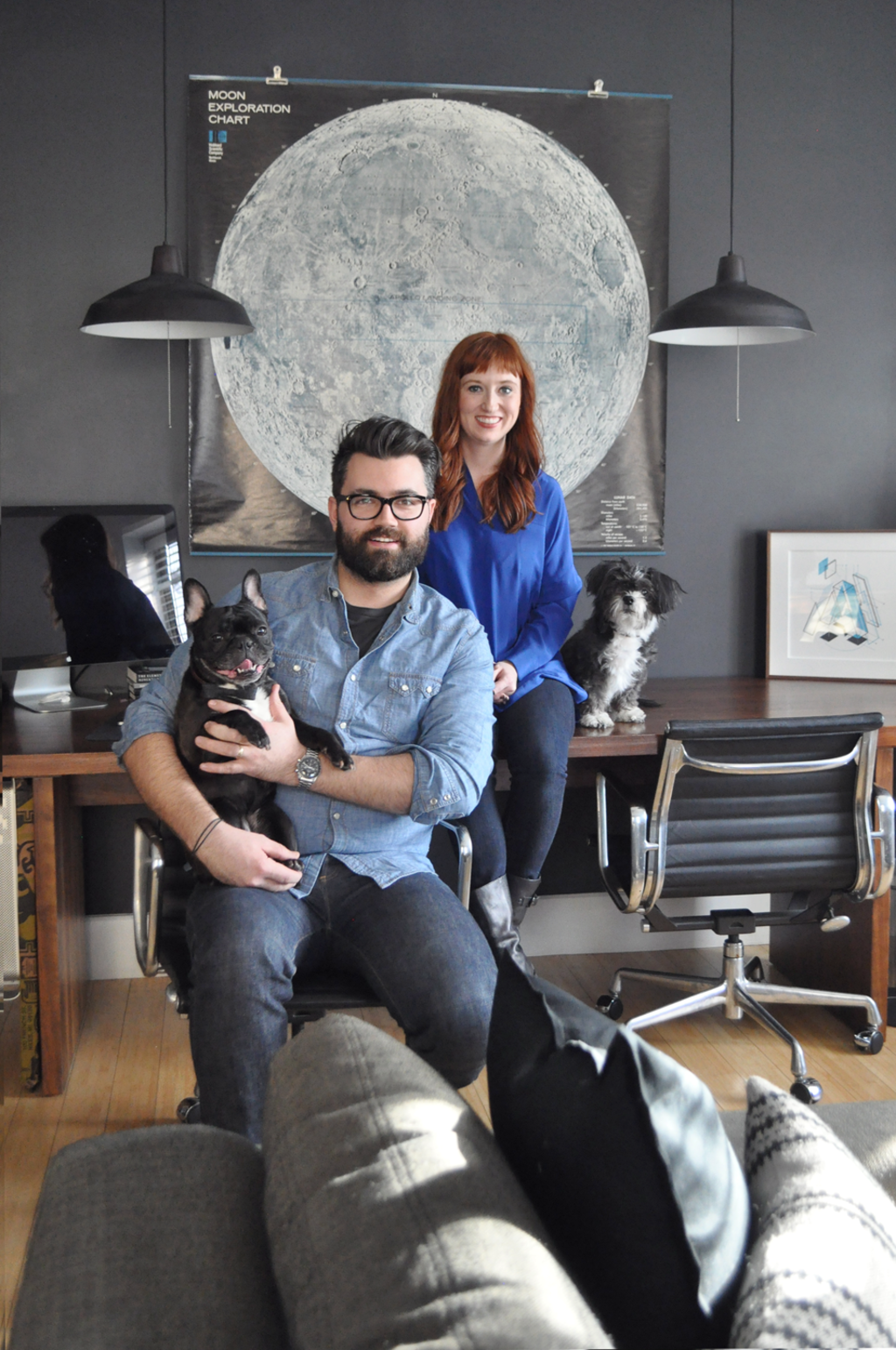 House Tour: A Compact Brooklyn Apartment and Studio