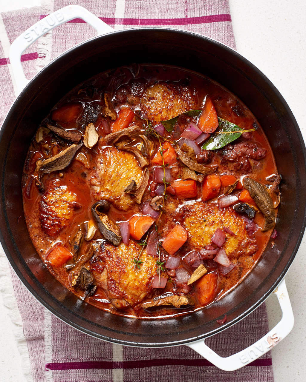 Easy Chicken in Wine Is Fast & Fancy Cooking at Its Finest
