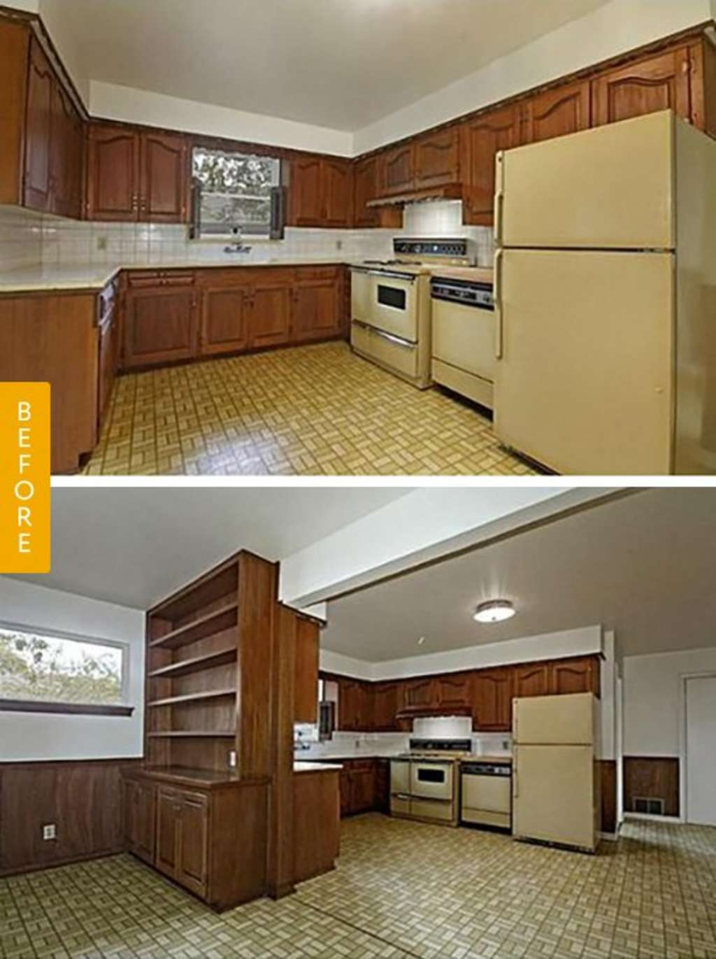 Before & After: A 1950s Ranch Kitchen Gets Its First