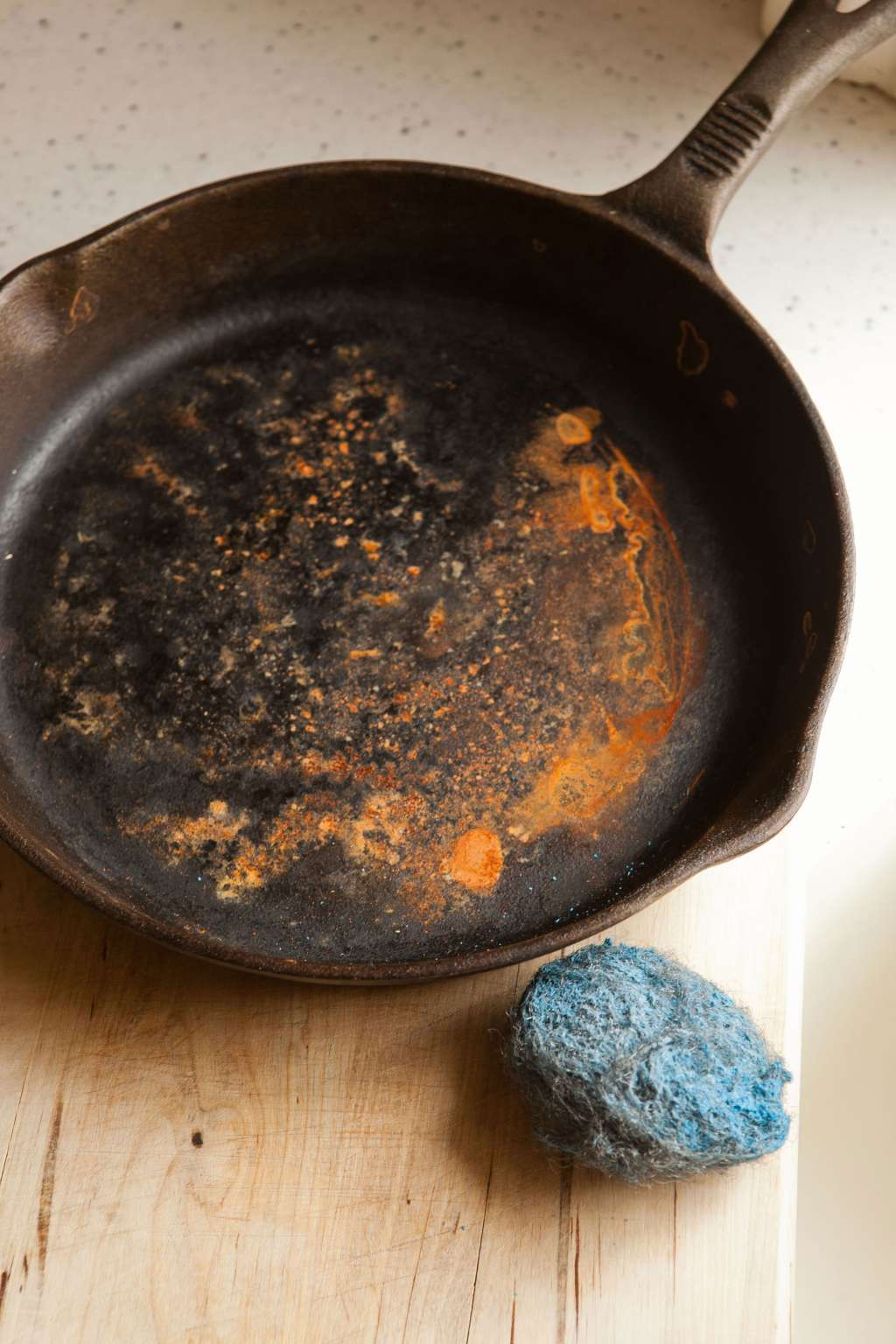 How To Restore a Rusty Cast Iron Skillet