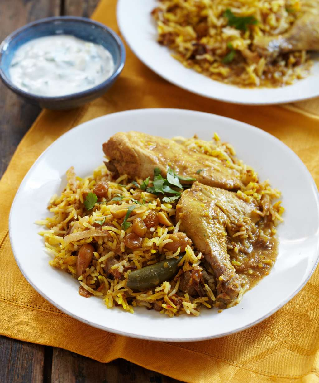 Recipe: Slow-Cooker Chicken & Rice Biryani
