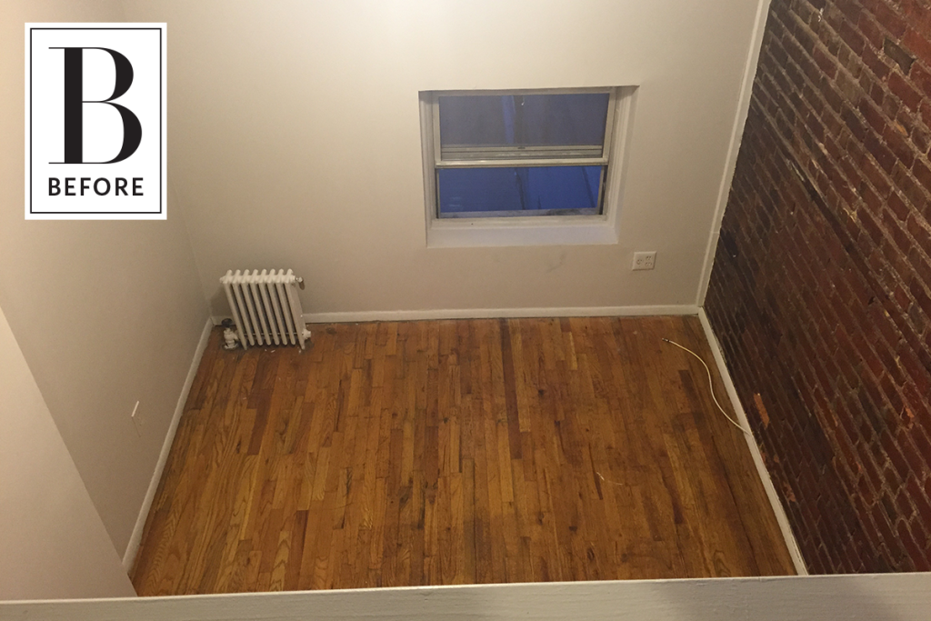 Before & After: A Blank 250 Sq Ft Space Becomes a Cozy Home