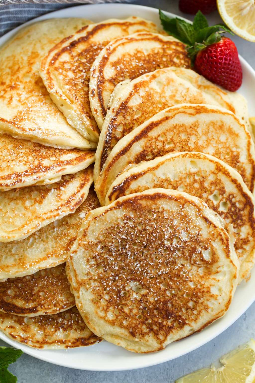 These Lemon Ricotta Pancakes Are Fit for a Royal Brunch