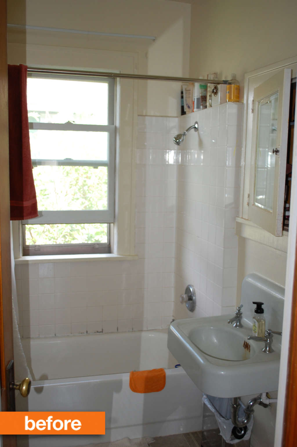 Before & After: A Stylish Bathroom Transformation