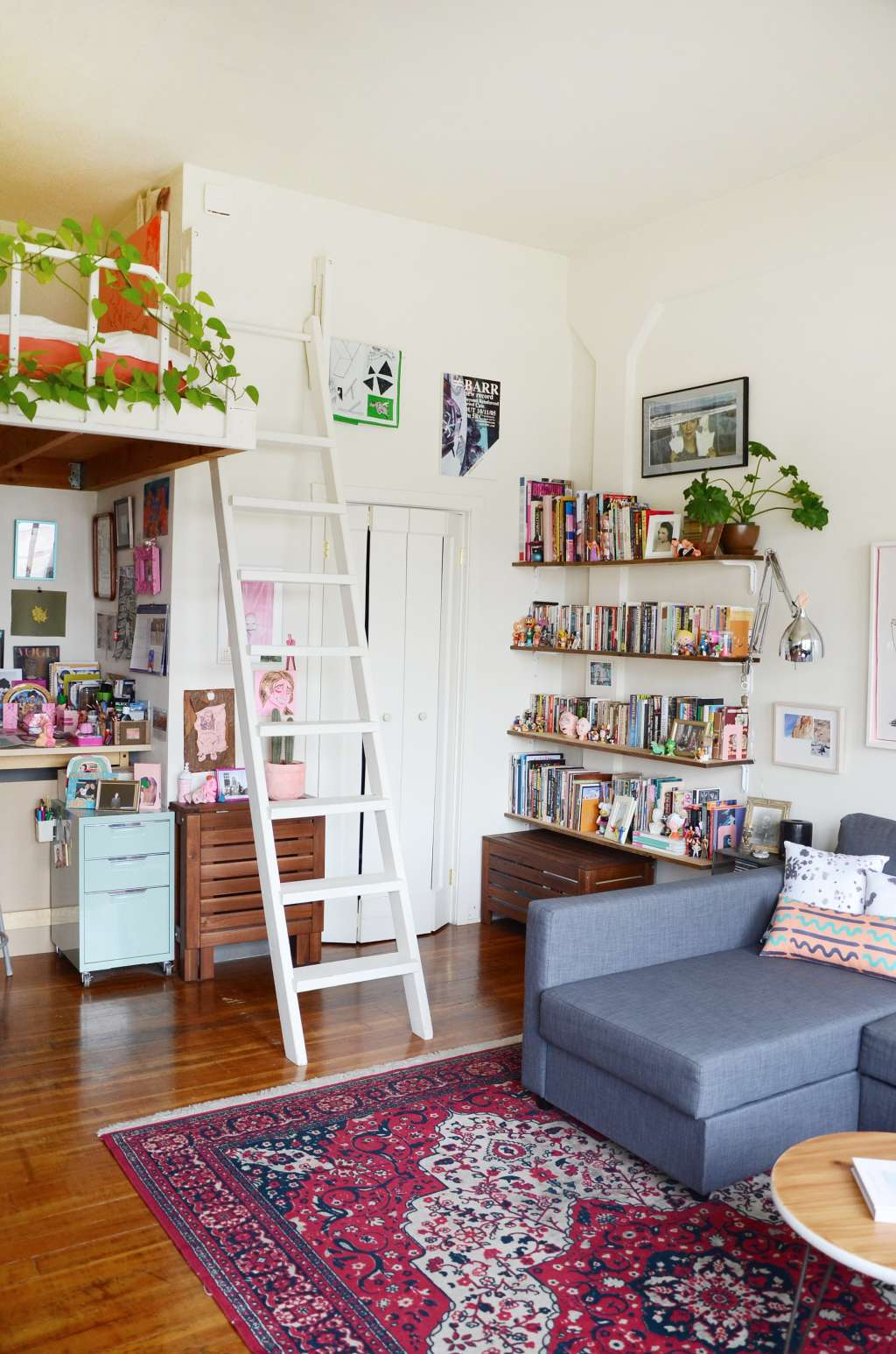 Small Space Ideas from a 300 Square Foot Studio