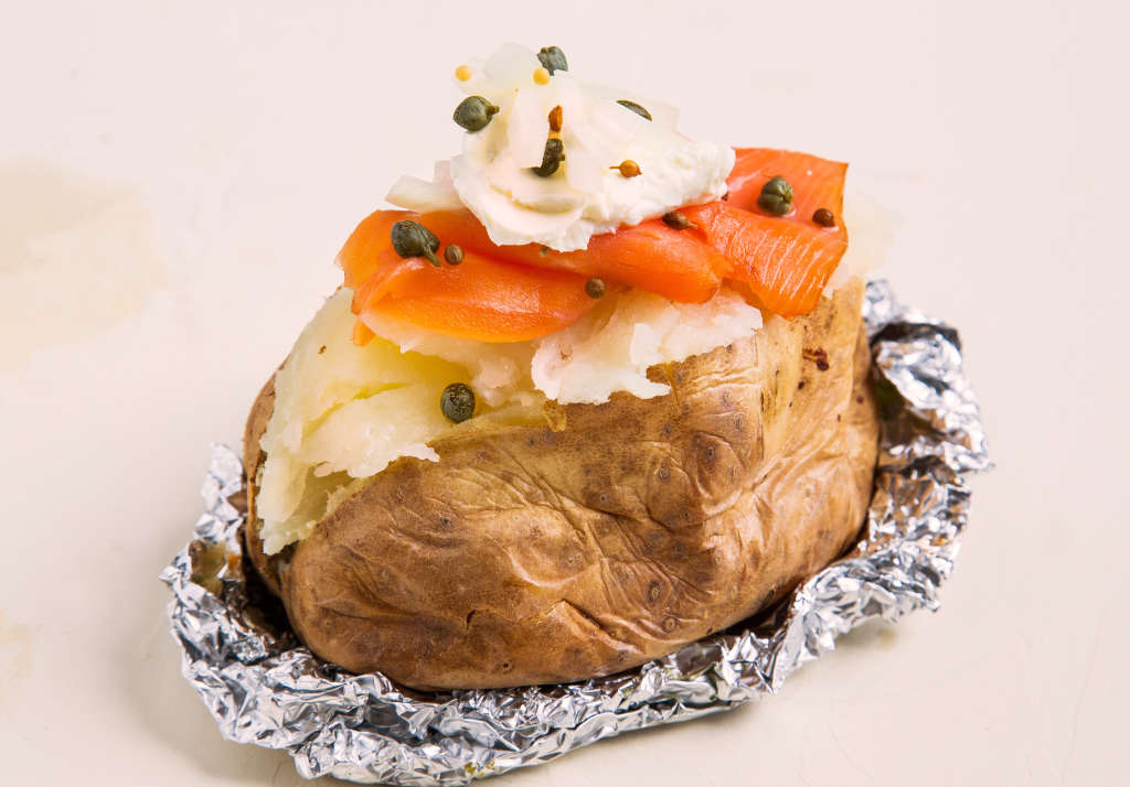Cream Cheese And Lox Stuffed Baked Potato Kitchn