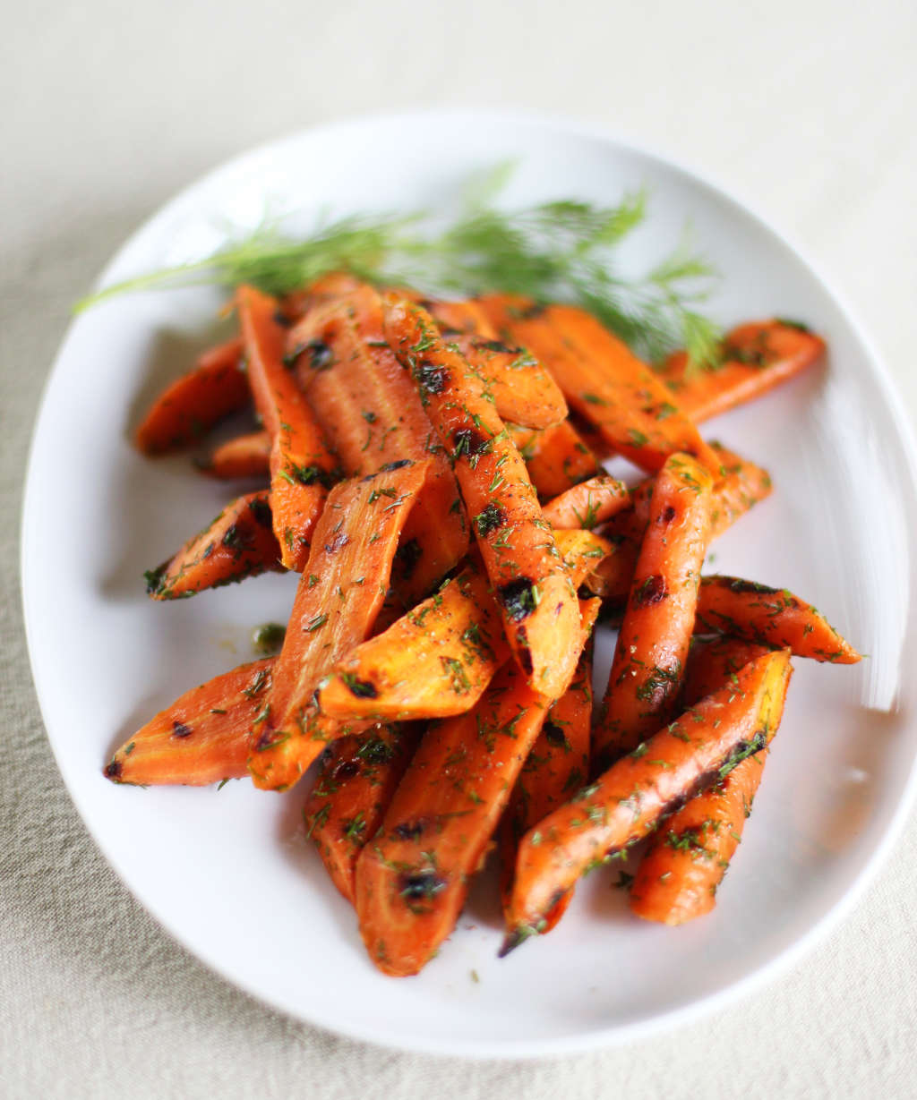 Easy Vegetable Recipe: Grilled Carrots with Lemon and Dill
