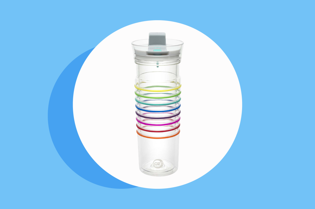 This Water Bottle Makes Drinking More Fun