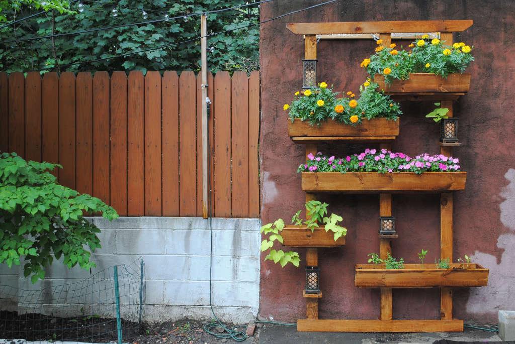 Backyard Oasis: How To Make Your Own Vertical Garden